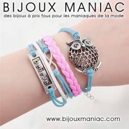 Bracelet multirang Hibou Believe