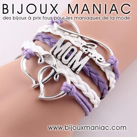 Bracelet multirang MOM