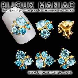 Déco ongle strass