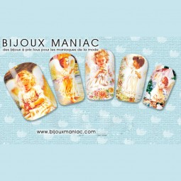 Déco ongle ange 24