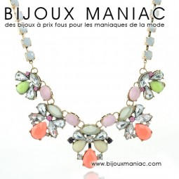 Collier luxe brillants