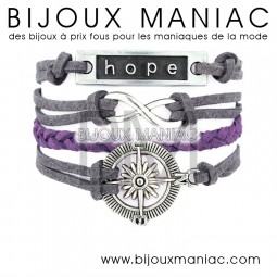 Bracelet multirang Marine Hope