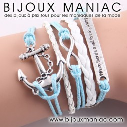 Bracelet multirang Ancre Where...