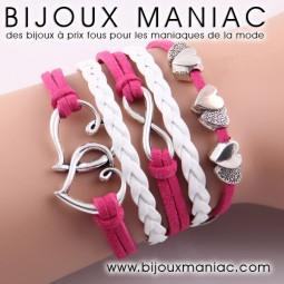 Bracelet multirang Amour