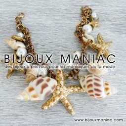 Bracelet coquillages