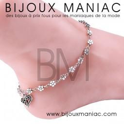 Bracelet cheville Printemps