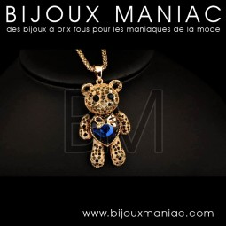 Ours pendentif