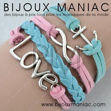 Bracelet multirang Big Love