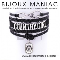 Bracelet multirang Country Girl