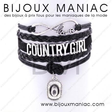 Bracelet multirang Country Girl