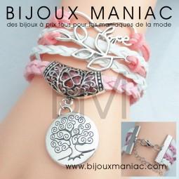 Bracelet multirang Vie Love