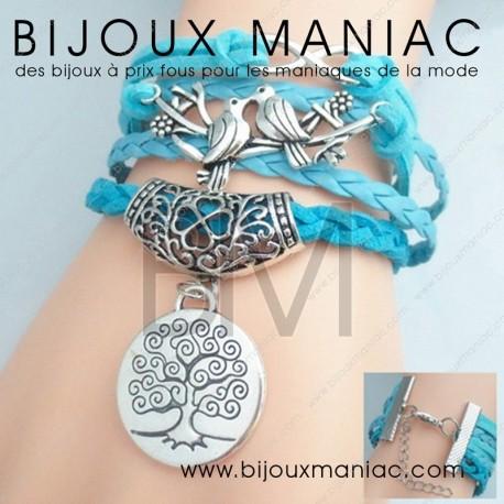 Bracelet multirang Colombe