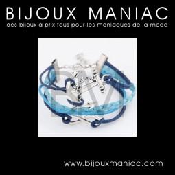 Bracelet multirang Marine Infini