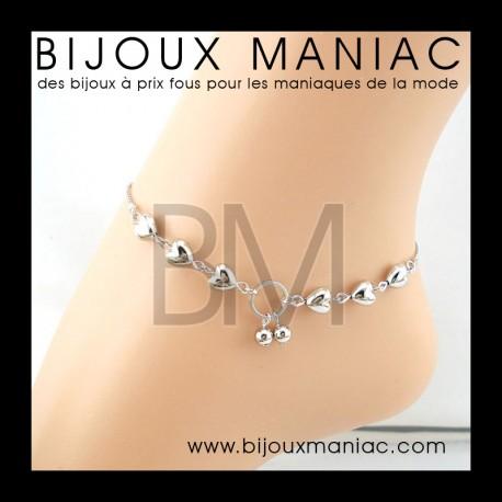Bracelet cheville Amour