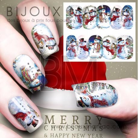 Déco ongle Noël 0048