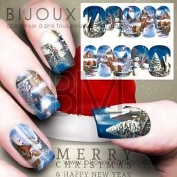 Déco ongle Noël 0038