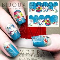 Déco ongle Noël 0040