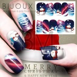 Déco ongle Noël 0042