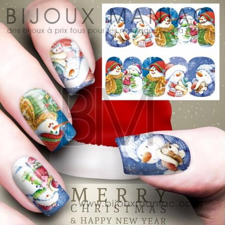 Déco ongle Noël 0047