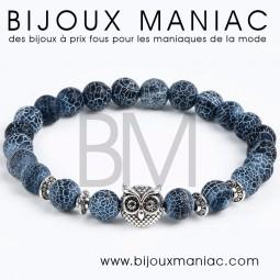 Bracelet Chouette bleu