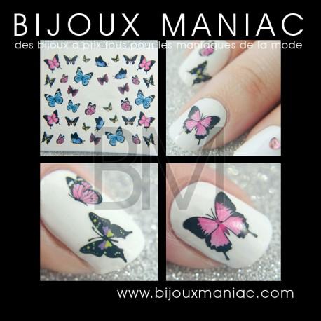 Déco ongle Papillons 025