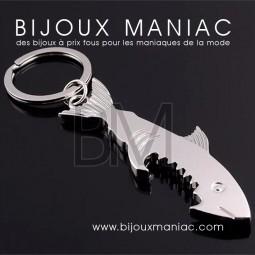 Porte-clefs Requin décapsuleur