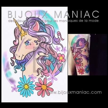 Tattoo Licorne