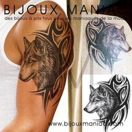 Tattoo Loup