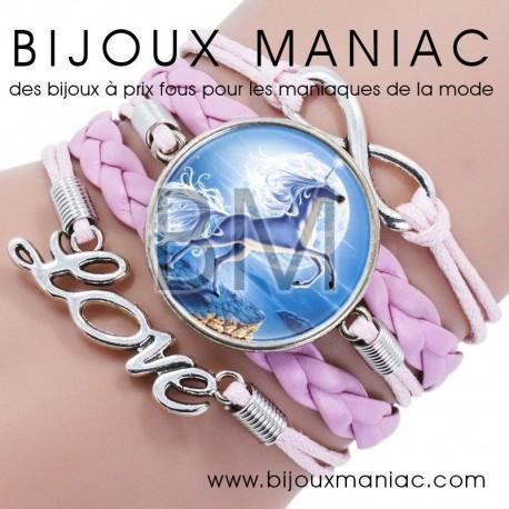 Bracelet multirang Licorne