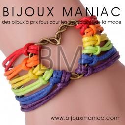 Bracelet multirang LGBT