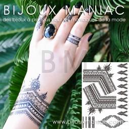 Tattoo main noir