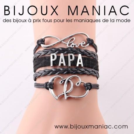 Bracelet multirang Papa