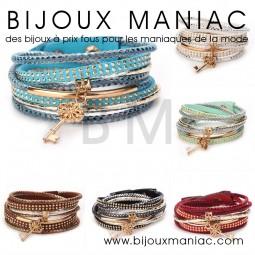 Bracelet multirang Rihana
