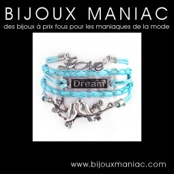 Bracelet multirang Love Dream Colombe