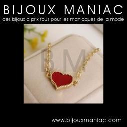 Bracelet Coeur Rouge