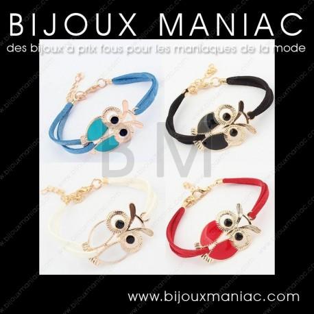 Bracelet chouette hibou