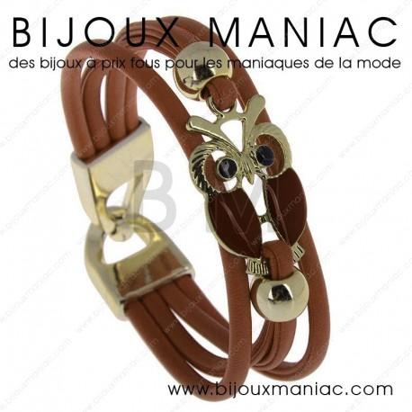 Bracelet multirang chouette