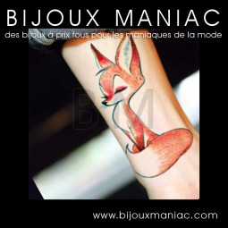Tattoo temporaire Renard