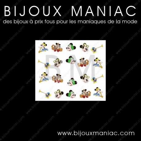 Déco ongle Mickey