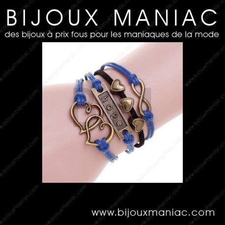 Bracelet multirang Infini Hope