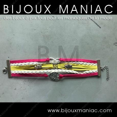 Bracelet multirang personnalisé ROSE