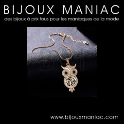 Collier Chouette Hibou