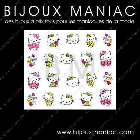 Décorations pour ongles Hello Kitty