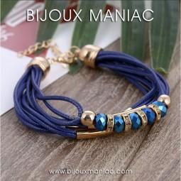 Bracelet Britney Bleu