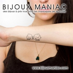 Tatoo éléphants