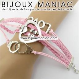 Bracelet multirang Menottes