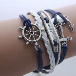 Bracelet multirang Marine Courage