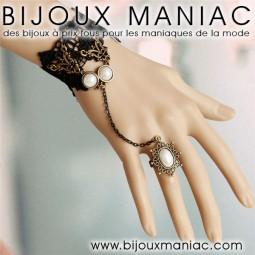 Bague bracelet Alexandra